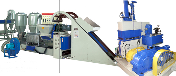 Polymer Compounding & Pelletizing Plant