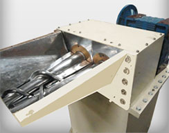 Conical Twin Screw Force Feeder